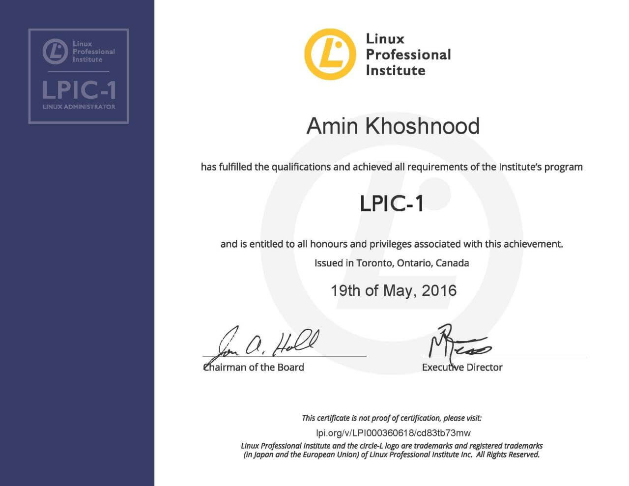 LPIC-1: Linux System Administrator (Linux Server Professional)